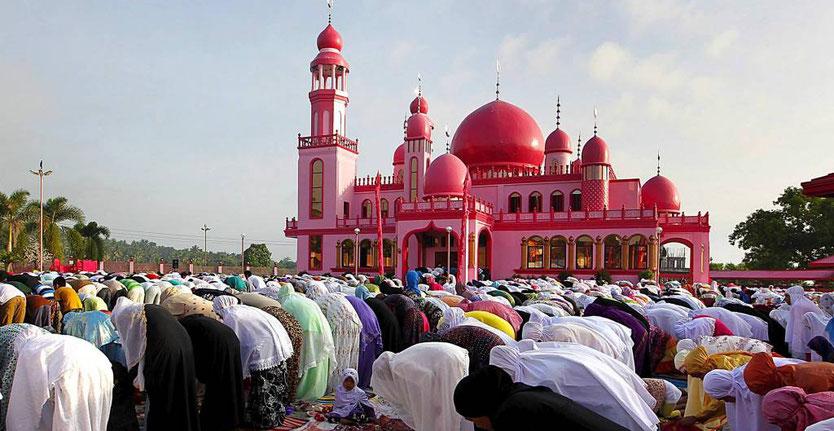 Мусульманские праздники в россии