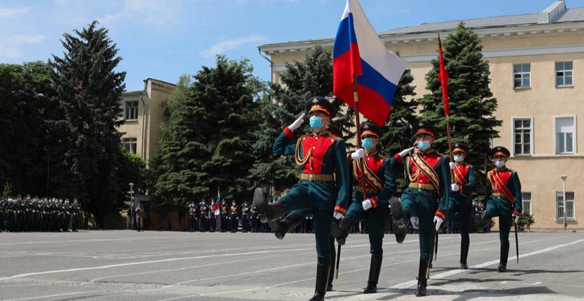 В столице  проходит первая ночная репетиция парада Победы